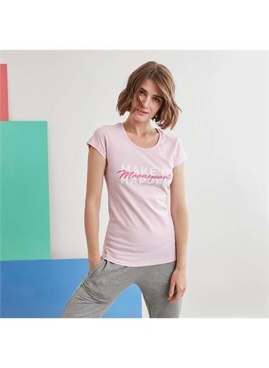 MoonSports Tişört Pembe